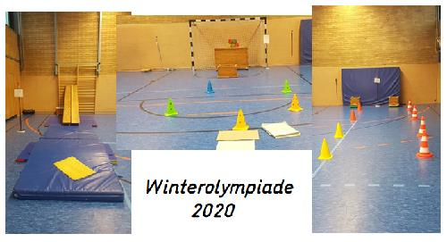 Collage Winterolympiade 2020